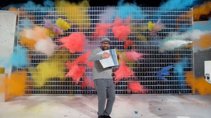 OK Go Shows How Much Actually Happens in 4.2 Seconds In a Zany New Video for 'The One Moment'