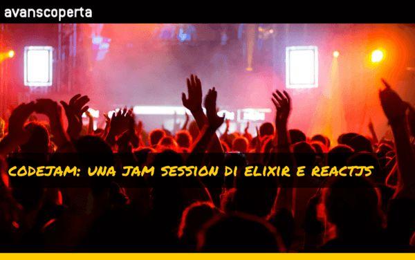 Jam Session di Elixir e Reactjs. Q&A Gabriele Lana ed Emanuele DelBono