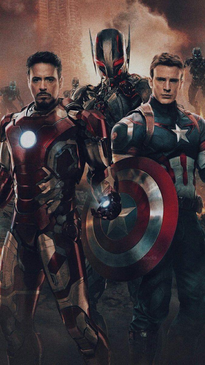 Iron Man And Captain America Wallpaper Credits Xiockscreen On