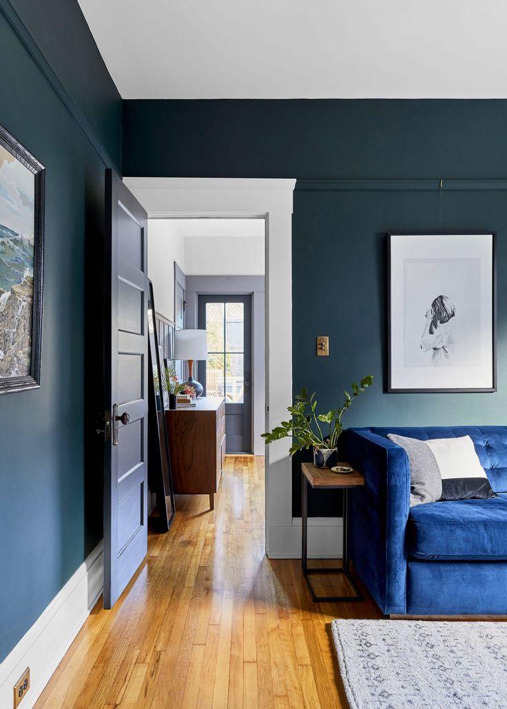 2019 Paint Color Trends | Living Room | Trending paint ...
