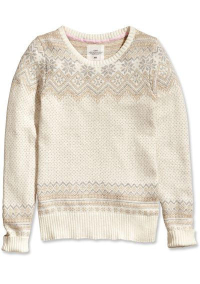Shop 11 Non-Ugly Holiday Sweaters - H&M from #InStyle