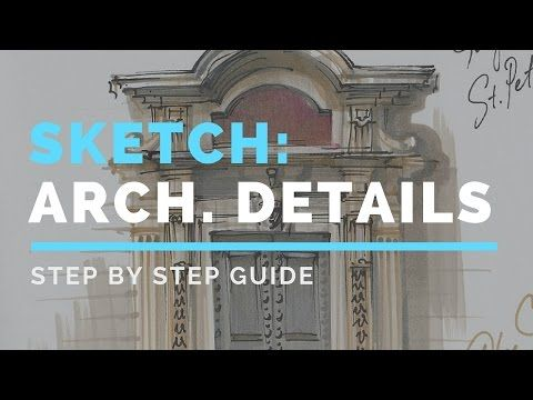 """My passion - architectural details:  urban sketching pencils for sketching best sketching pencils beginner  sketching sketching the basics pencil sketching images sketching for  beginners Watch my YouTube video """"How to sketch architecture"""":"""