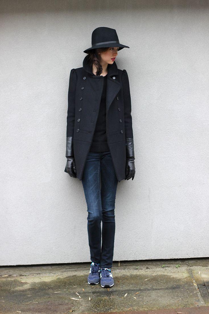 Rag and Bone Fedora / New Balance Sneakers / Emilie Chevrier - emiliechevrier.com