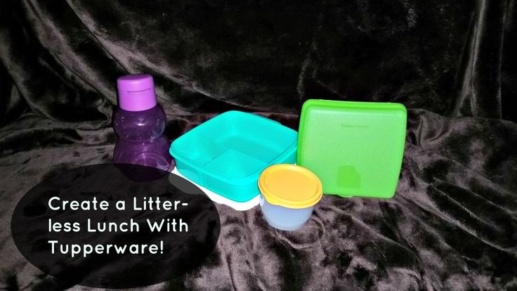 Create a Litter-less Lunch With Tupperware!