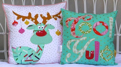 """""""Cool Yule"""" designed by Claire Turpin for Claire Turpin Designs."""