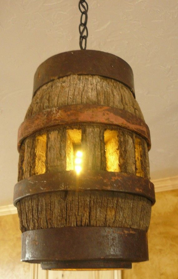 Vintage wagon wheel hub pendant light by bgdvintage on Etsy  $225.00  Have it in a Table Lamp!