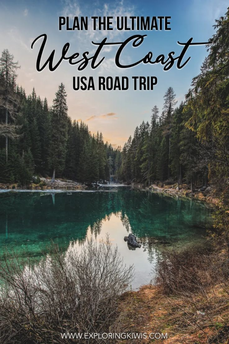 Plan the Ultimate US West Coast Road Trip: Itinerary, Packing List, Budget & More
