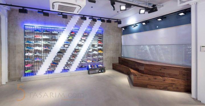 spor ayakkabı duvar raf sistemleri ve fiyatları