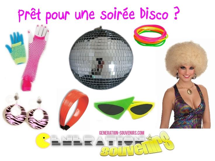 Vous organiser une soir e r tro disco retrouvez nous sur - Organiser une soiree romantique ...