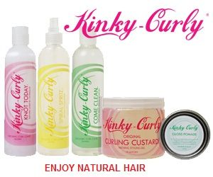 Kinky Curly hair products are amazing. It will define your curls and tame the frizz! --From a  proud customer and curly advocate. This product can be ordered online at http://kinky-curly.com/ or buy it from Target!!
