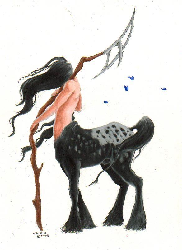 WIP centaur by ~vestaka on deviantART