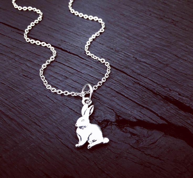 Rabbit Charm Necklace | Rabbit Jewelry | Bunny Jewelry | Bunny Necklace | Rabbit Rescue | Rabbit Foster | Bunny Rabbit Transport & Adoption by SecretHillStudio on Etsy https://www.etsy.com/listing/518311997/rabbit-charm-necklace-rabbit-jewelry