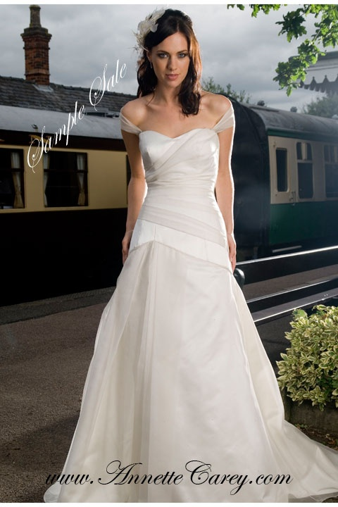 To make for you from £1,995.  Sample sale dresses in size 10 -12 available, as seen, worn in design salon, £200 each