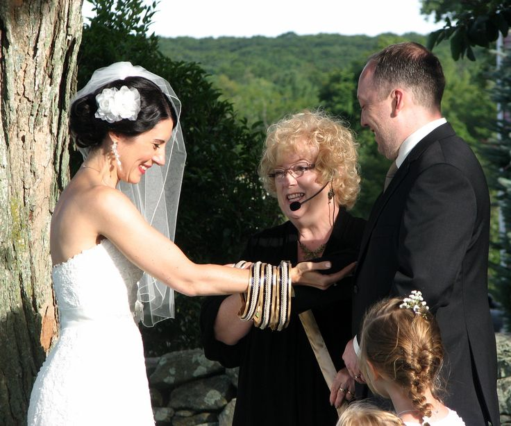 Handfasting In Process Ritual And Custom Cord Created By Ct Wedding Officiant Zita