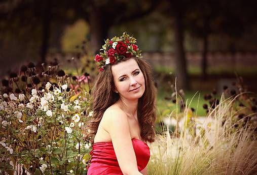 Sohemi_art / Svadobná kvetinová korunka