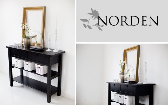 HOUSE OF SVEA: Ikea norden sideboard