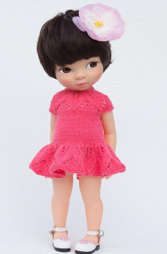 Pink Crayon Dress for Disney Animators 16 inch Dolls by LelleModa