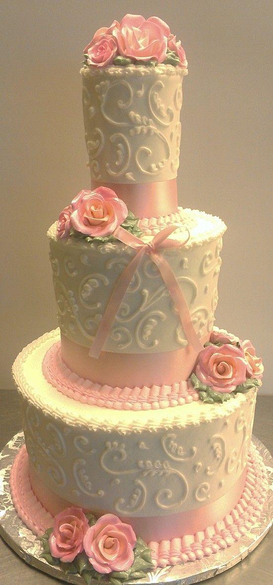 Dainty birthday cake