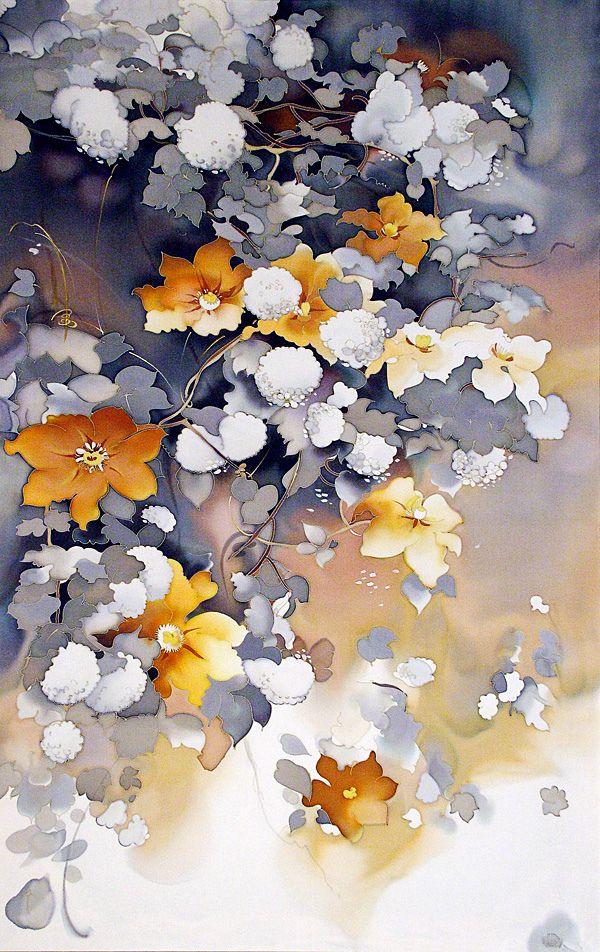 silk painting_ artwork_poetry | Flickr - Photo Sharing!