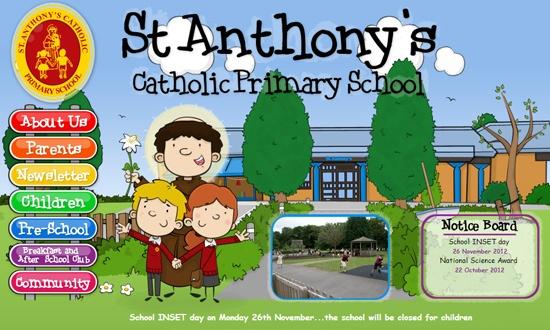 St Anthony's Catholic Primary School, by PrimarySite.net http://www.saint-anthonysfareham.co.uk/