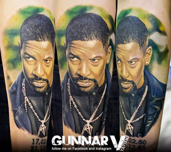 Movies Tattoo by Gunnar V Tattoo | Tattoo No. 12870