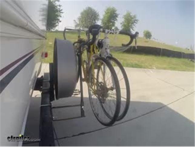bike rack for rv bumpers swagman rv