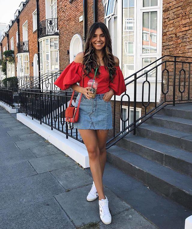 7c852f8f Yasmin🌸 (@yasminrobert) • Photos et vidéos Instagram | Summer in 2019 | Summer  outfits, Denim skirt outfits, Fashion outfits