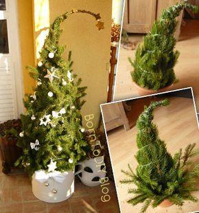 ❤ Grincsfa házilag egyszerűen fenyő vagy tuja ágakból ❤Mindy - kreatív ötletek és dekorációk minden napra