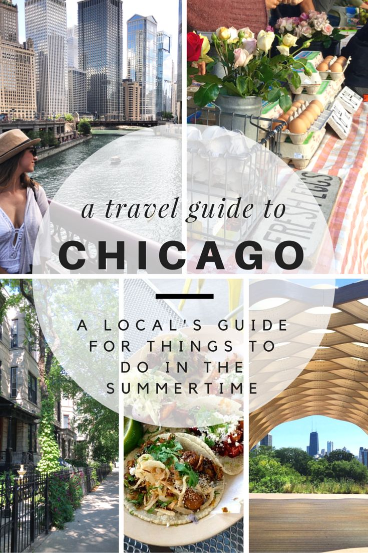 There's nothing quite like summertime in Chicago. The Riverwalk, fireworks  above the lake, rooftops and patios, and festivals galore!If you're  planning a trip to the Windy City during the summer months, check out this  travel guide on things to do in Chicago while you're visiting! You  definitely don't want to miss out on this summer destination.