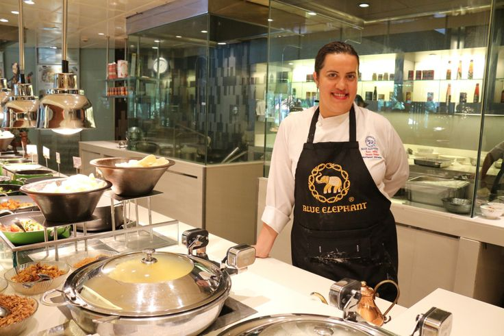 Chef Sandra Steppe from Blue Elephant Cooking School & Restaurant