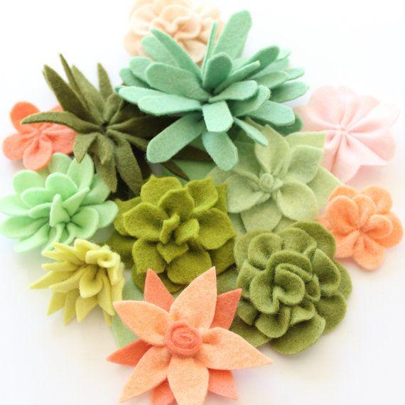 COCO FLOWER CROWN Pdf Pattern - felt, flower wreath, hair accessory, hair crown…