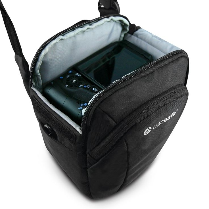 Camsafe V3 anti-theft camera top loader bag - Shoulder & Cross Body - Camera Bags and Accessories | Pacsafe