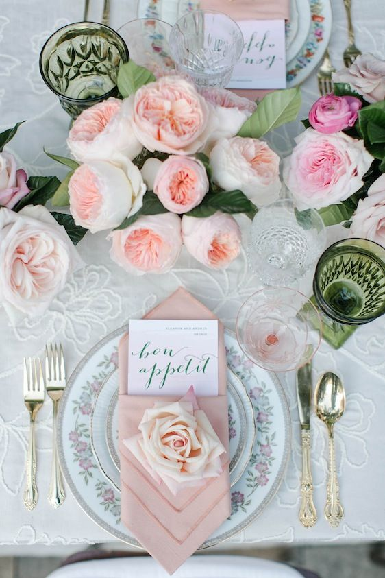 Photography: Jasmine Star // Event Design, Coordination + Styling: Harmony Creative Studio // Floral Design: Enchanted Garden Floral Design // Venue: Vibiana // Wedding Dress: Rmine Bespoke // Groom's Attire: The Black Tux // Paper Goods: Smitten on Paper // Tabletop Rentals: Dish Wish // Linens: La Tavola // Cake: Superfine Bakery // Hair + Make-up: Kacee Geoffroy // Models: Bride - Shaimaa Farid, Groom - Jordan Destin