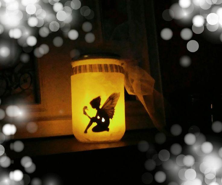 Fée clochette ...  ou pas : un joli photophore enchanteur