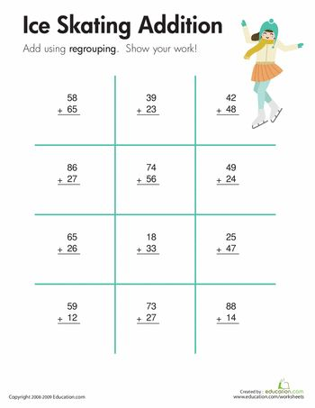 Number Names Worksheets regrouping worksheets 3rd grade : 1000+ images about 2nd grade on Pinterest