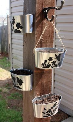 I love this idea for the Garden.