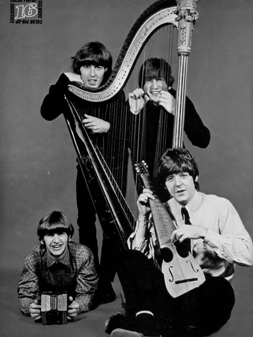 Interesting instruments..... Beatles