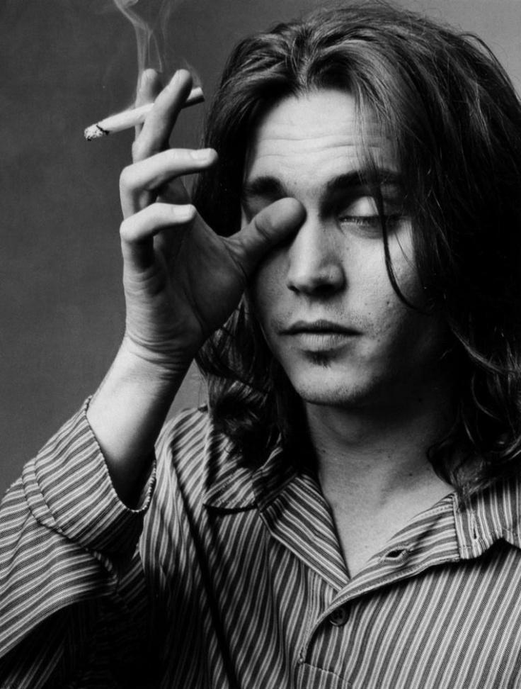Johnny Depp, February 1993. Photo by: Mary-Ellen Mark