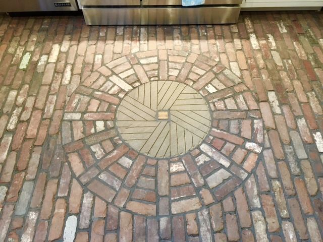 17 Best Images About Reclaimed Brick Flooring On Pinterest