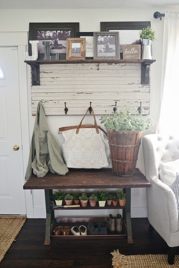 New [[Old]] Entryway Table -