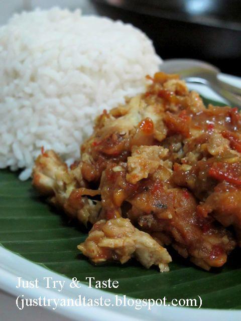 Just Try & Taste: Tempe Penyet