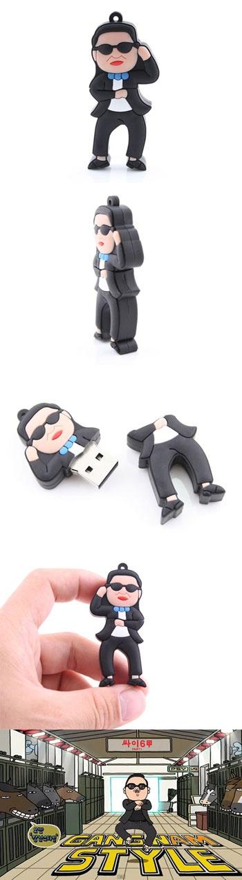 PSY - Gangnam Style USB Drive  http://www.usbgeek.com/products/psy-usb-drive