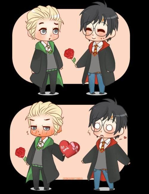 Draco x Harry (Harry Potter)