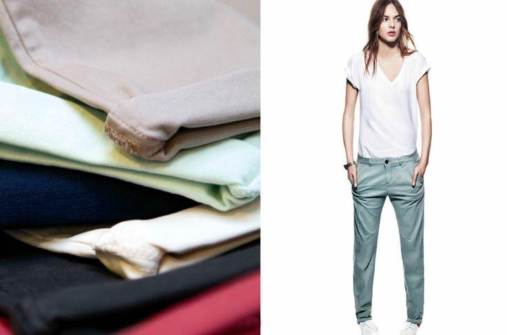 Nouvelle collection REIKO  Le Chino SANDY décliné en 16 couleurs, ils sont sur notre e-shop : http://store.reikojeans.com/fr/nos-modeles/443-chino-basic.html