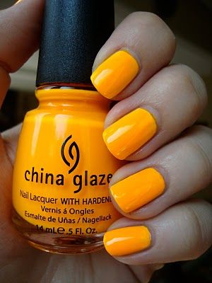 Sun Worshipper, China Glaze. summer color!