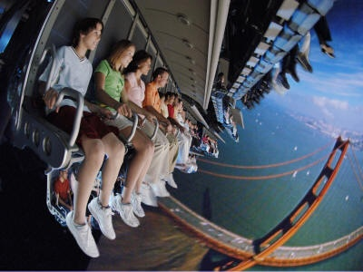 If you've never tried Soarin' at Disney World's Epcot, you don't know what you're missing!