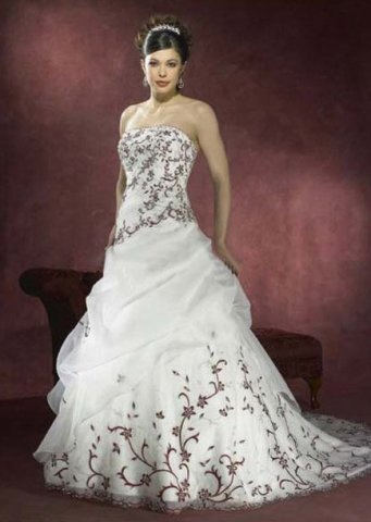 Discount Casrin Bridal Rhapsody White Satin And Organza