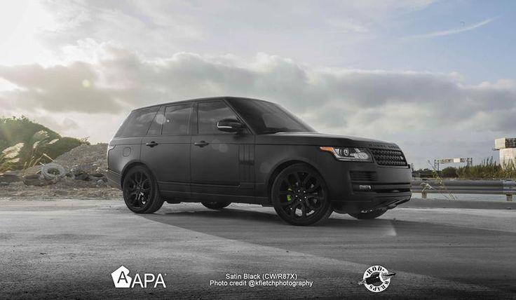 Satin Black (CW/R87X) #apaspa #apaamerica #apaspain #apafilms #satinblack #blackline #pellicoleadesive #carwrapping #carwraps #apainside