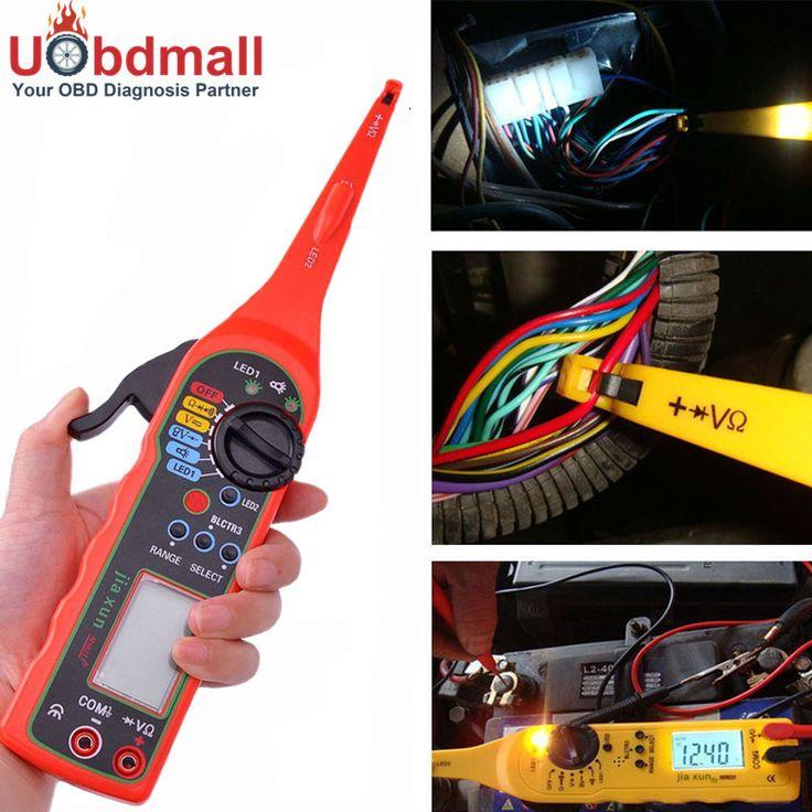 Universal Automotive Electric Circuit Tester 0-380 V Lámpara de mano Multímetro Automotriz de Reparación Del Coche Con Pantalla LCD