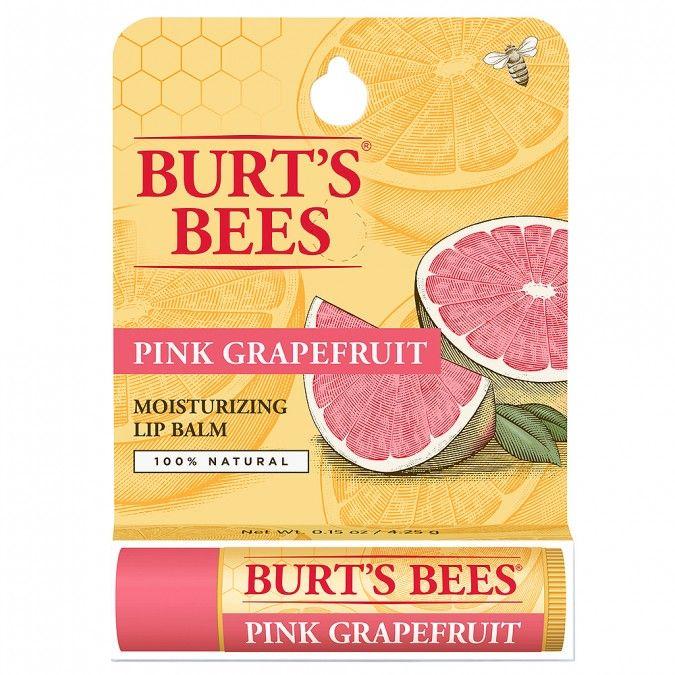 Refreshing Lip Balm with Pink Grapefruit. 100% Natural.